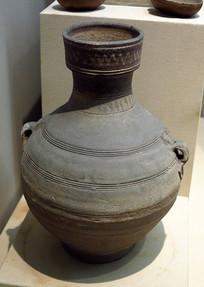 汉代釉陶壶