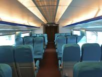 磁浮列车座位蓝色