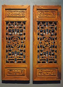 东阳精美木雕门窗