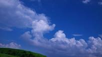 蓝天白云摄影