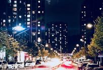 住宅区街道