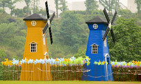 荷兰风车摄影