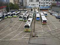 老式公交站点