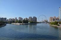 天津海河风景