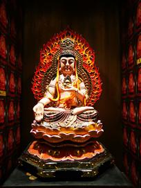 虚空藏菩萨塑像