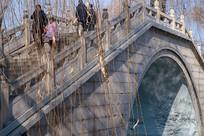 大明湖景区石桥