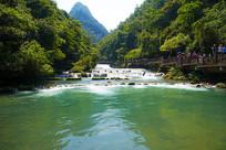 贵州荔波小七孔瀑布群