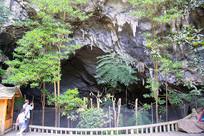 贵州织金洞洞口