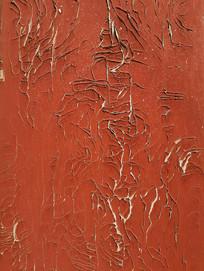怀旧掉漆木板