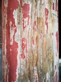 旧木柱纹理