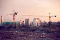 城市建设工地现场