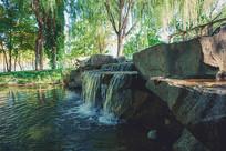 公园景观小河