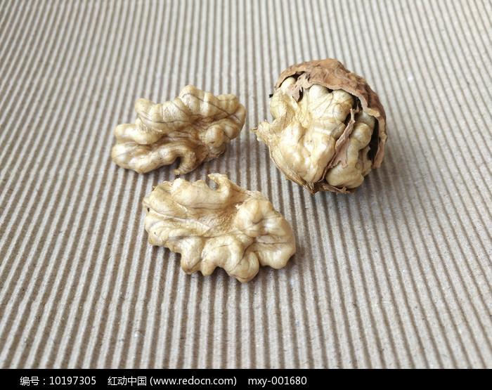 核桃静物米图片