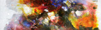 横幅水墨抽象画
