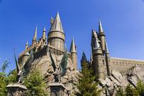 日本环球影城哈利波特城堡摄影
