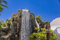 日本环球影城瀑布