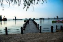 三国城吴军水寨码头