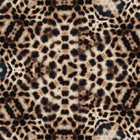 豹纹数码印花