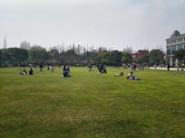 复旦校园草坪