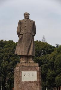 伟人毛泽东雕像