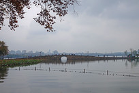 西湖断桥风景