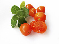 橙色番茄果