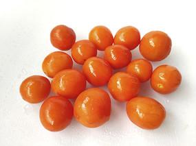 橙色圣女果
