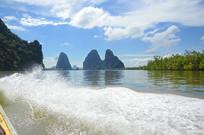 普吉岛的海浪摄影