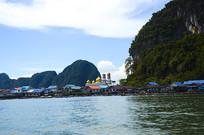 普吉岛海边建筑摄影