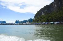 普吉岛海边民居摄影