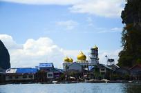 普吉岛临海建筑摄影