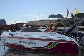 普吉岛码头游艇