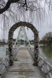 水上婚礼舞台