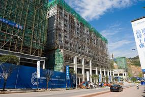 建设中的商品楼
