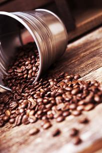 咖啡豆特写