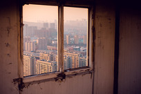 破旧的窗户