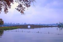 西湖断桥景观