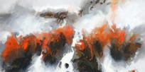 新中式装饰山水画