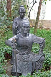 杭州岳母刺字雕塑