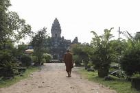 柬埔寨石雕皇宫
