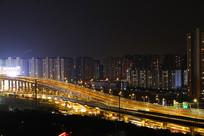 中环高架夜