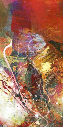 高雅的抽象油画