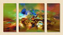无框抽象艺术画