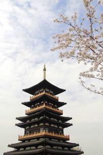 樱花樱花塔