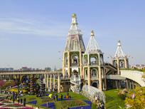 浦江郊野公园城堡建筑