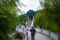 太湖仙岛观光桥