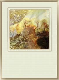 流体水墨抽象艺术画