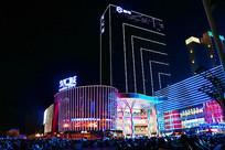 茂名东汇城购物广场夜景