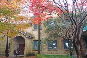 莫干山松月庐庭院历史建筑
