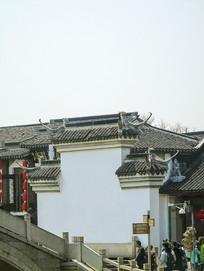 中国古建筑石碑牌楼徽派建筑